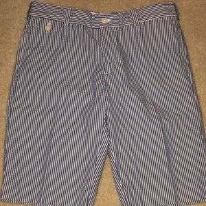 Ralph Lauren Sport Pinstripe Bermuda Short Size 6